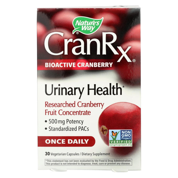 Nature's Way Cranberry Rx Bioactive Cranberry - 30 Vcap