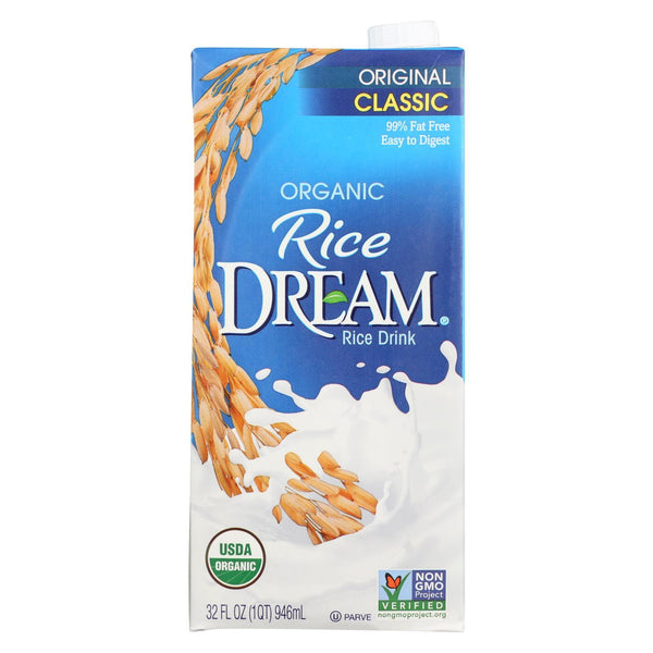 Rice Dream Organic Rice Dream - Original - Case of 12 - 32 fl oz