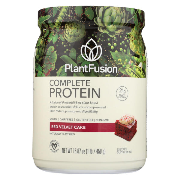 Plantfusion Nature's Most Complete Plant Protein - Chocolate Raspberry - 1 lb