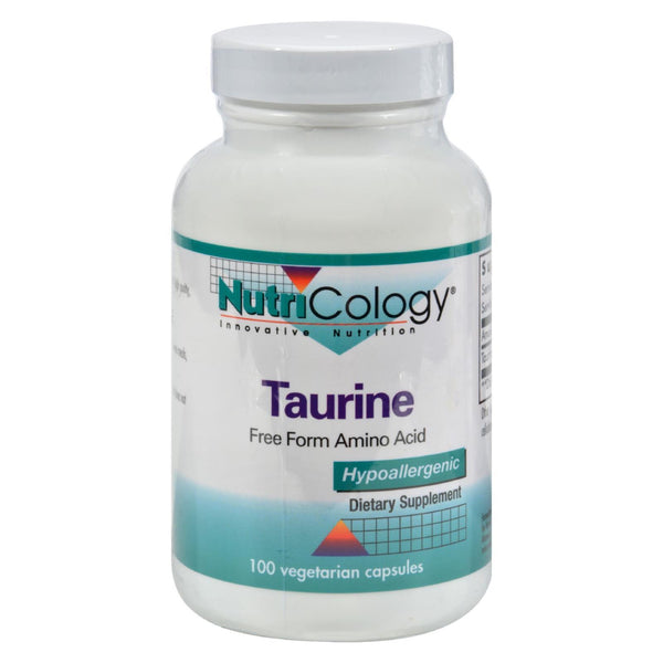 Nutricology Taurine - 100 caps