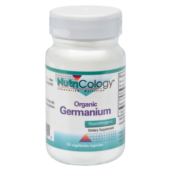 Nutricology Organic Germanium - 150 mg - 50 caps