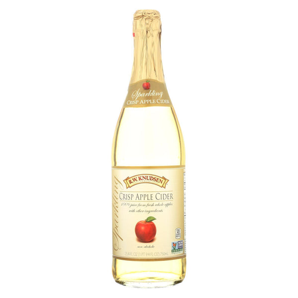 R.w. Knudsen Sparkling Juice - Crisp Apple - Case of 12 - 750 ml