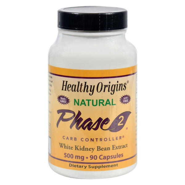 Healthy Origins Phase 2 Starch Neutralizer - 500 mg - 90 caps