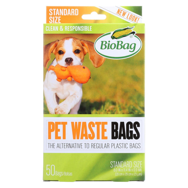Biobag Dog Waste bags - 50 ct - Case of 12