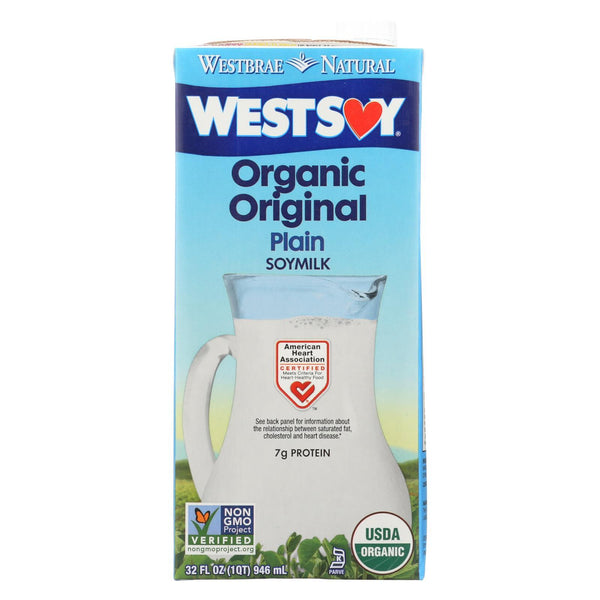Westsoy Soy Milk - Original - Case of 12 - 32 fl oz