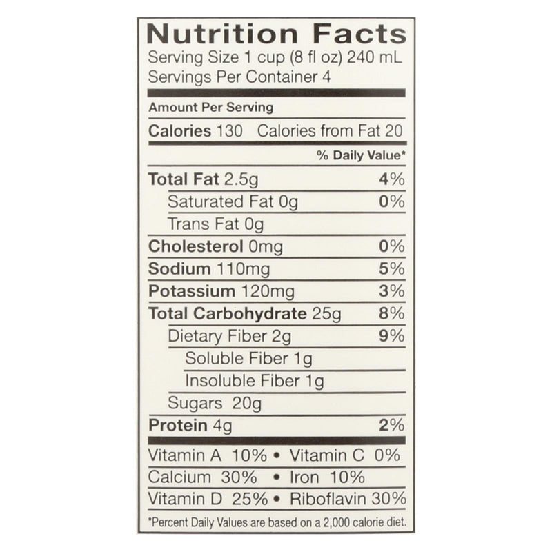 Pacific Natural Foods Oat Vanillailla - Non Dairy - Case of 12 - 32 fl oz