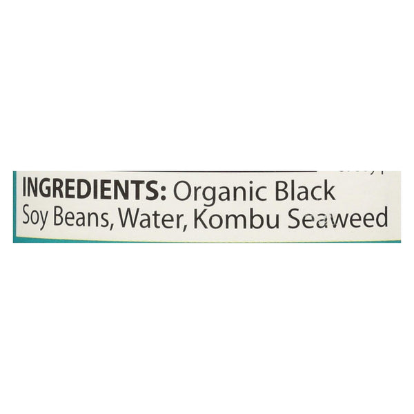Eden Foods Organic Black Soy Beans - Case of 12 - 15 oz