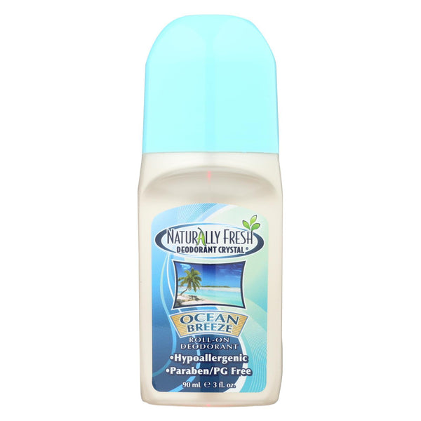 Naturally Fresh Roll-on Deodorant Crystal Ocean Breeze - 3 oz