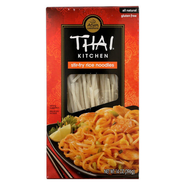 Thai Kitchen Stir-fry Rice Noodles - Case of 12 - 14 oz