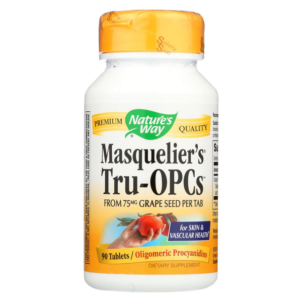 Nature's Way Masquelier's Tru-opcs - 75 mg - 90 tabs