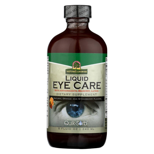 Nature's Answer Liquid Eye Care - 8 fl oz