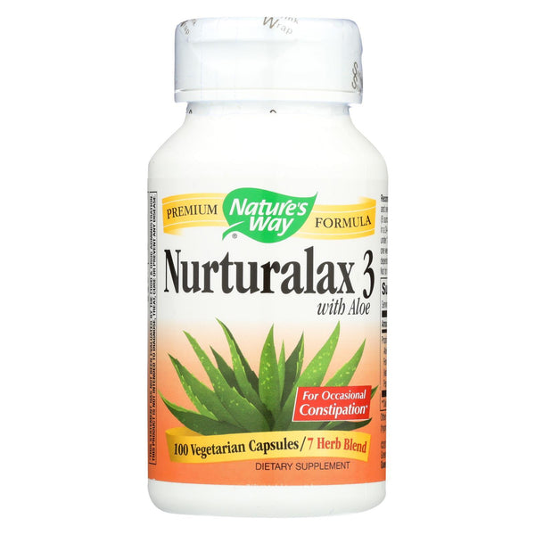 Nature's Way Naturalax 3 With Aloe - 100 vcaps