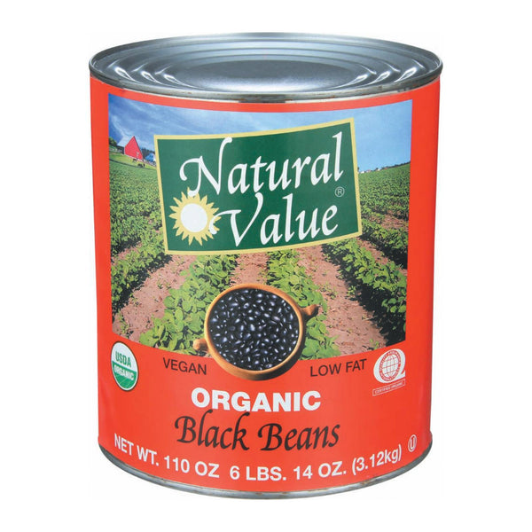 Natural Value Beans and Grains - Case of 6 - 108 oz