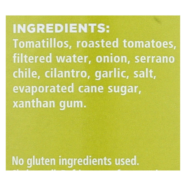 Frontera Foods Tomatillo Salsa - Tomatillo - Case of 6 - 16 oz