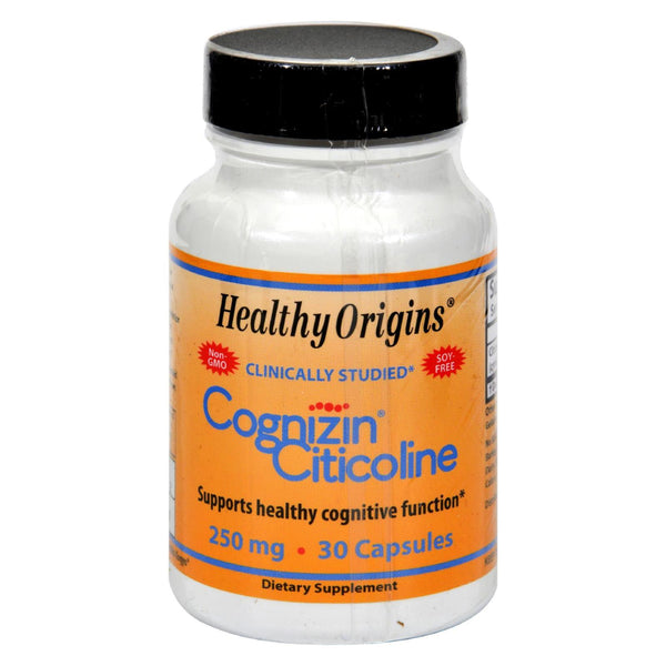 Healthy Origins Cognizin Citicoline - 250 mg - 30 caps
