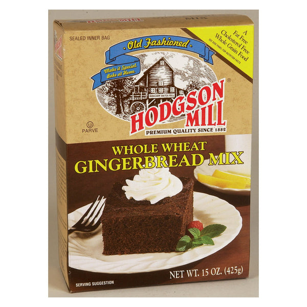 Hodgson Mills Whole Wheat Gingerbread Mix - Gingerbread - Case of 6 - 15 oz