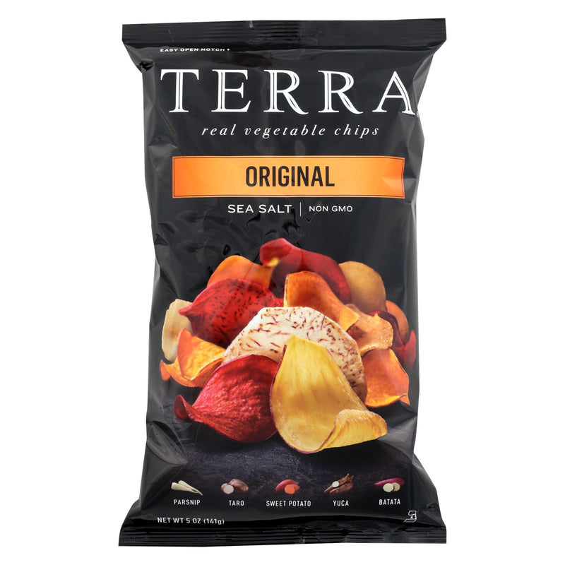 Terra Chips Exotic Vegetable Chips - Original - Case of 12 - 5 oz
