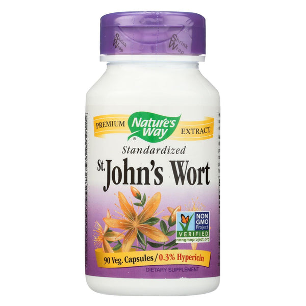 Nature's Way St John's Wort Standardized - 90 caps