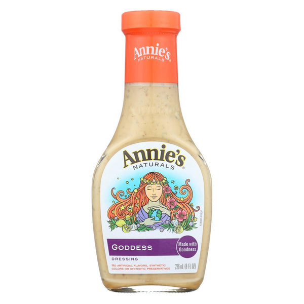 Annie's Naturals Dressing Goddess - Case of 6 - 8 fl oz