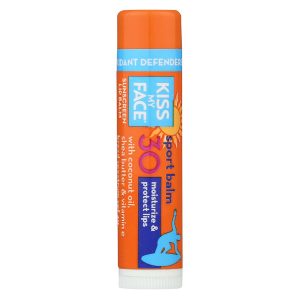 Kiss My Face Lip Balm Sport - 0.15 oz - Case of 24