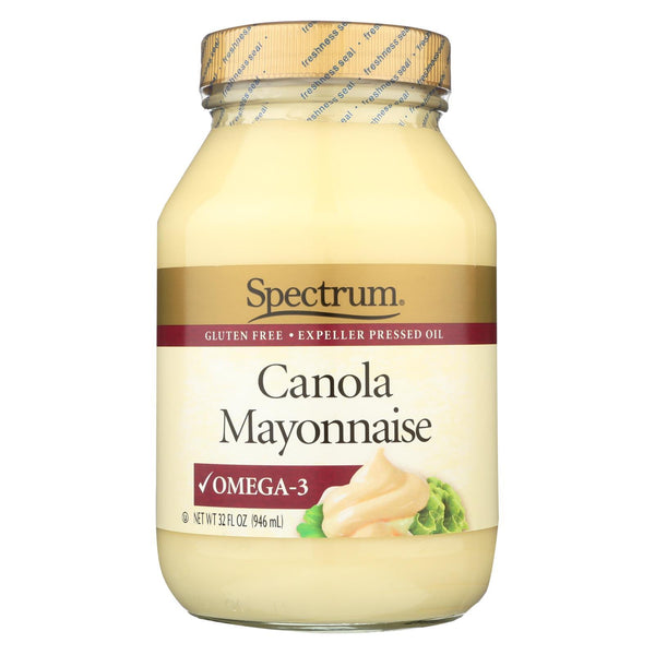 Spectrum Naturals Mayonnaise - Canola - 32 oz - Case of 12