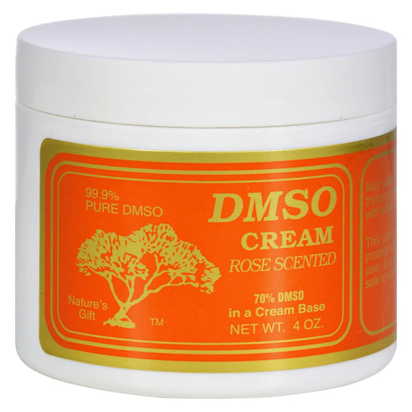 Dmso Cream Rose Scented - 4 oz