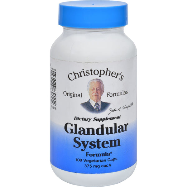 Dr. Christopher's Glandular System - 440 mg - 100 vcaps
