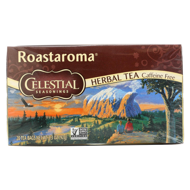 Celestial Seasonings Herbal Tea Caffeine Free Roastaroma - 20 Tea bags - Case of 6