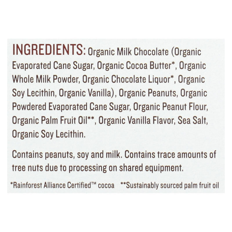 Justin's Nut Butter Organic Peanut Butter Cups - Milk Chocolate - 1.4 oz - Case of 12