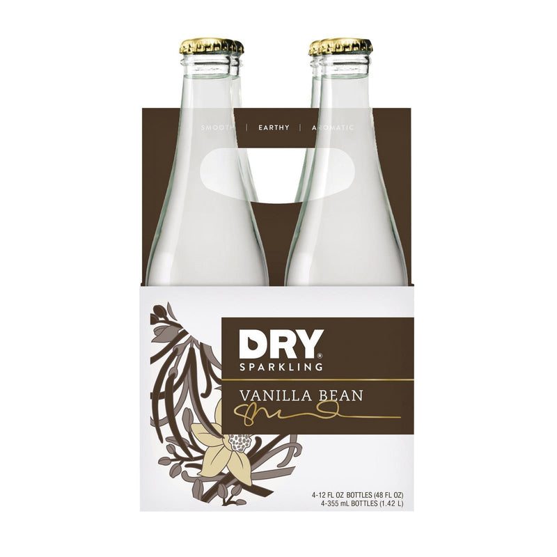 Dry Soda - Vanillailla Bean - Case of 6 - 12 fl oz