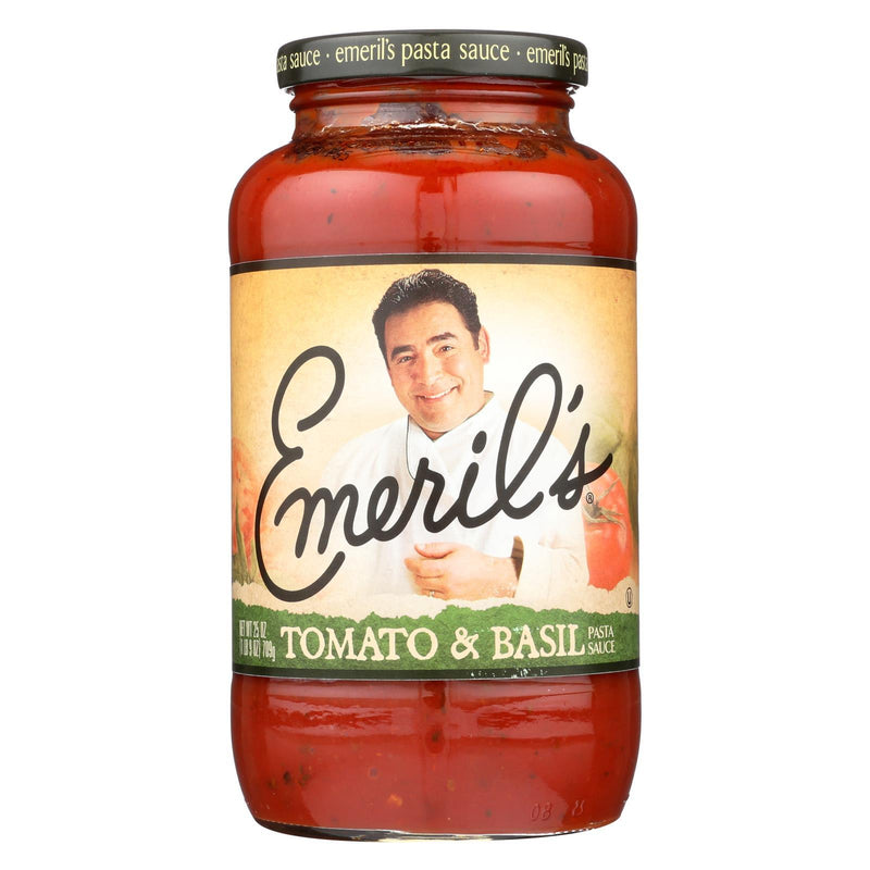 Emeril Tomato and Basil Sauce - Case of 6 - 25 oz