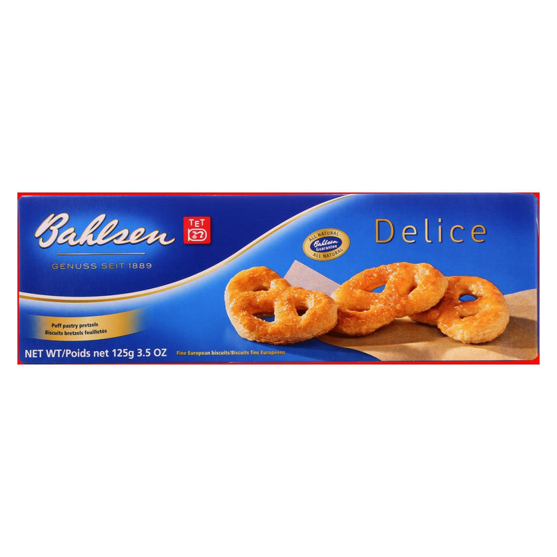Bahlsen Pastry Twist - Delice - 3.5 oz - Case of 12