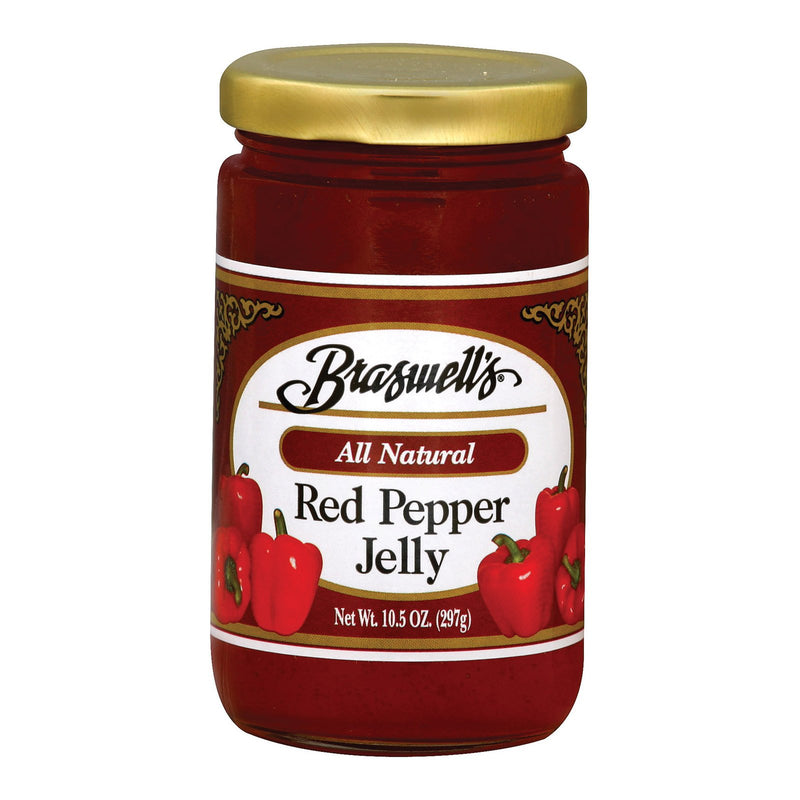 Braswell's Red Pepper Jelly - Case of 6 - 10.5 oz