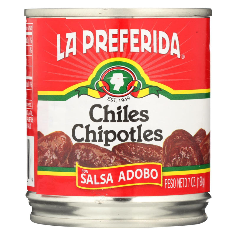 La Preferida Pepper - Chipotle - Case of 24 - 7 oz