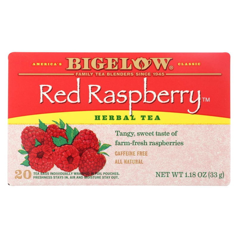 Bigelow Tea Herbal Tea - Red Raspberry - Case of 6 - 20 Bag