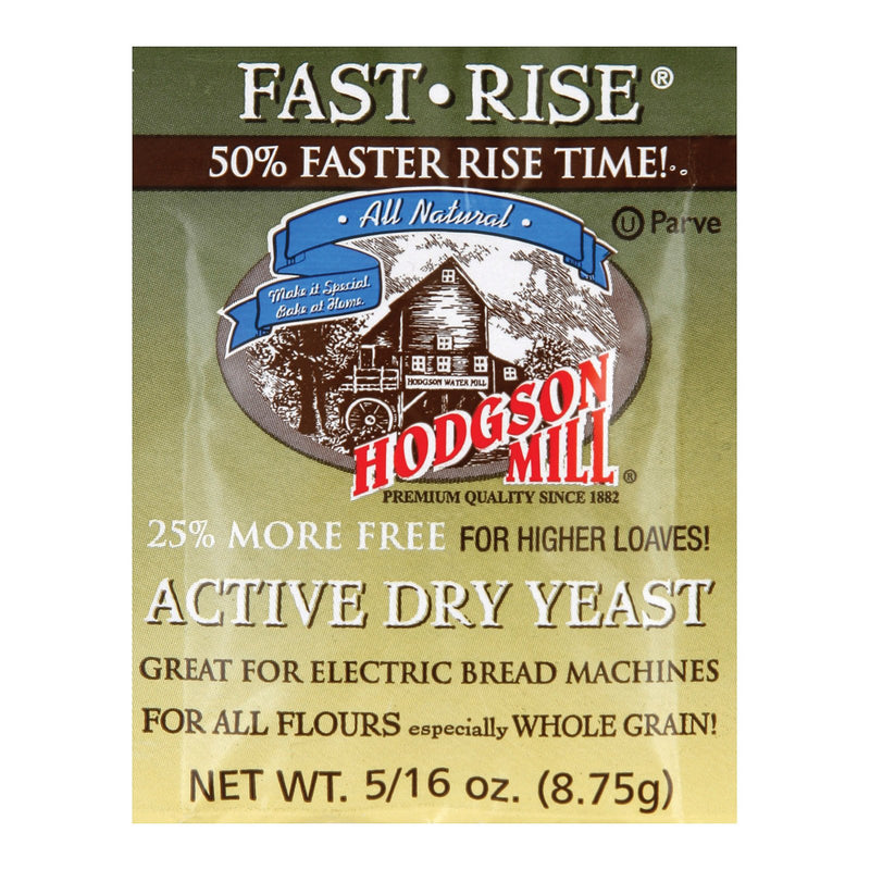 Hodgson Mills Baking - Yeast - Fast Rise - Case of 48 - 0.35 oz