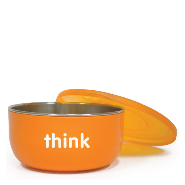 Thinkbaby  Bpa Free Cereal Bowl - Orange