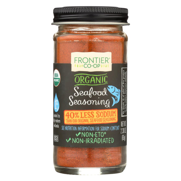 Frontier Herb Seafood Seasoning - Organic - Reduced Sodium - 2.3 oz