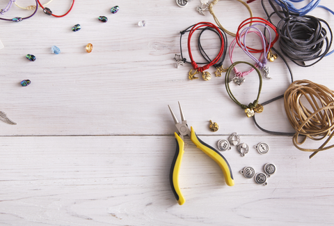 tools and supplies for jewelry making