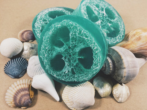 Seafoam Loofah Soap-Soap-Earthen Vibes