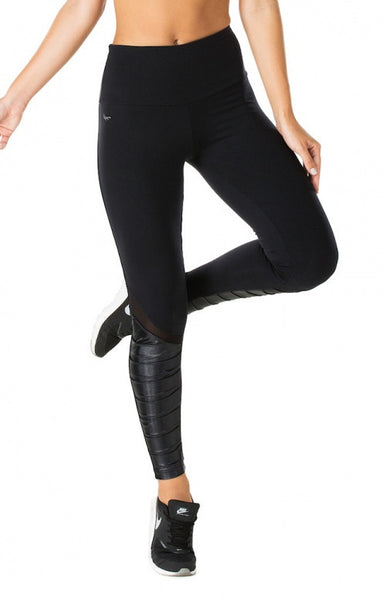 Black Moto Supplex Compress F/L Legging