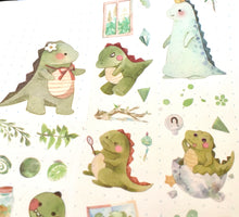 Chubby Dinosaur Washi Tape Box Set