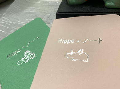 Hippo Noto Mini Notebook Collab #1 - 3 Pack