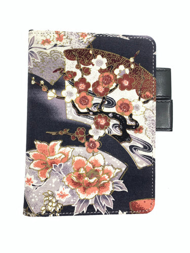 A6 Crane and Fans Notebook Cover