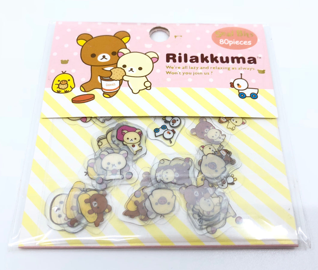 Rilakuma Stickers Set 1