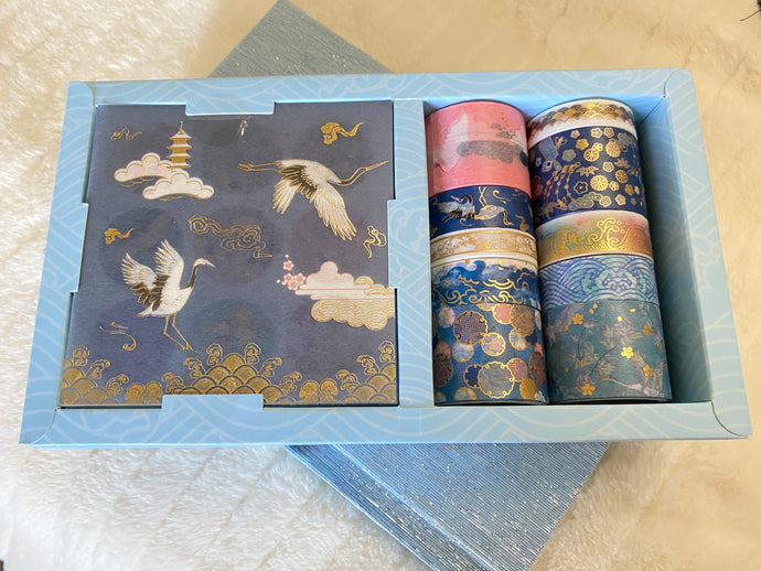 Crane Washi Tape Box Set