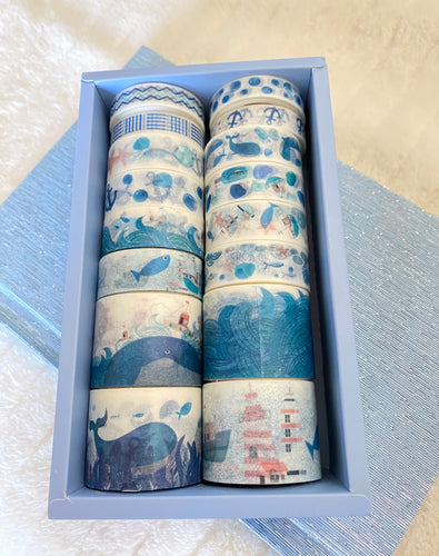 Whale Washi Tape Box Set