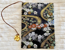 A5 Cloth Oriental Blooms Cover