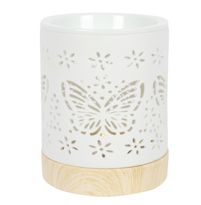 Ceramic Butterfly Wax Warmer