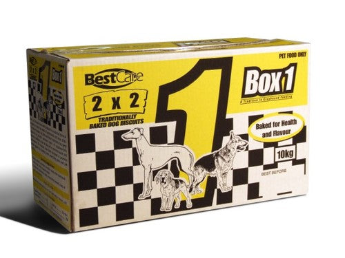 Box 1 2x2 Baked Biscuits 10 kg